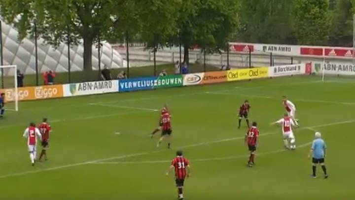 WATCH: Dennis Bergkamp Proves He's Still Got It With Stunning Strike