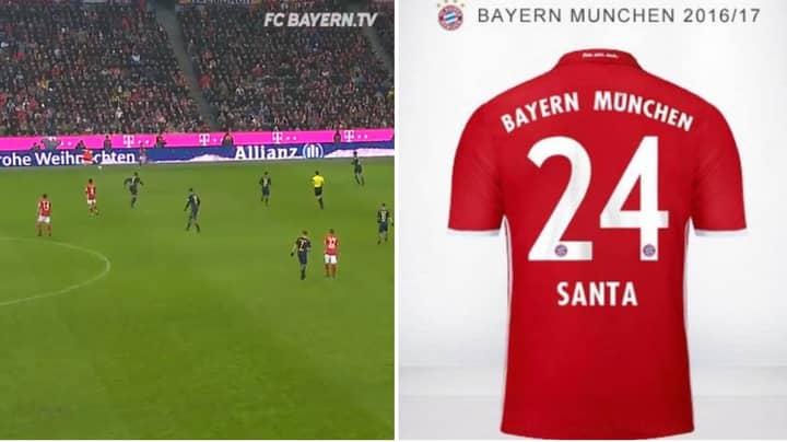 The Time Thiago Alcantara Momentarily Mistook Santa Claus For Bayern Munich Player