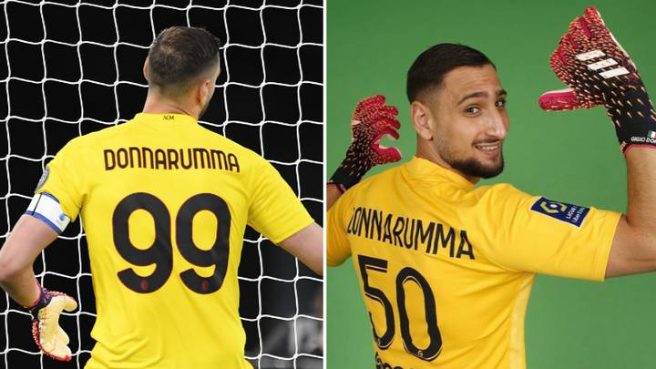 Why Gianluigi Donnarumma Was Banned From Wearing The No.99 Shirt ...