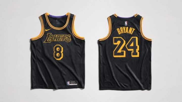 The LA Lakers Are Bringing Back The Black Mamba Jersey To Honour ...