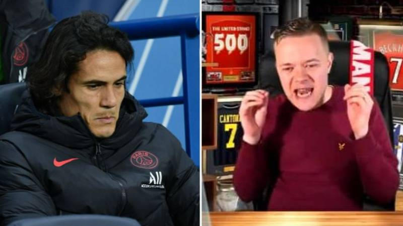 Mark Goldbridge Rants About Manchester United Signing Edinson Cavani