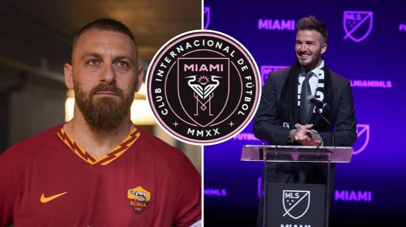 David Beckham Wants Daniele De Rossi To Join Inter Miami