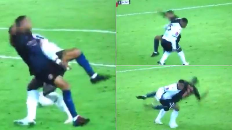 Raheem Sterling Absolutely Bodied By Marc Guehi During FA Cup Clash