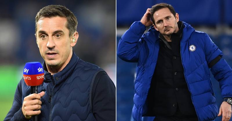 Gary Neville Names Three Chelsea Stars Who Are 'Nowhere Near Good Enough'