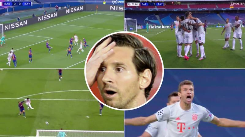 Bayern Munich Blow Barcelona Away In Sensational First-Half Display