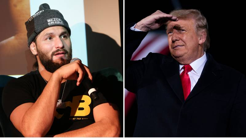 Jorge Masvidal Slammed By UFC Fans For His Reaction To Donald Trump's Twitter Ban