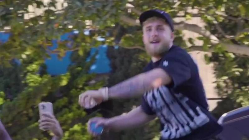 New Footage Emerges Of Jake Paul's Water Balloon 'Drive By' On Dillon Danis
