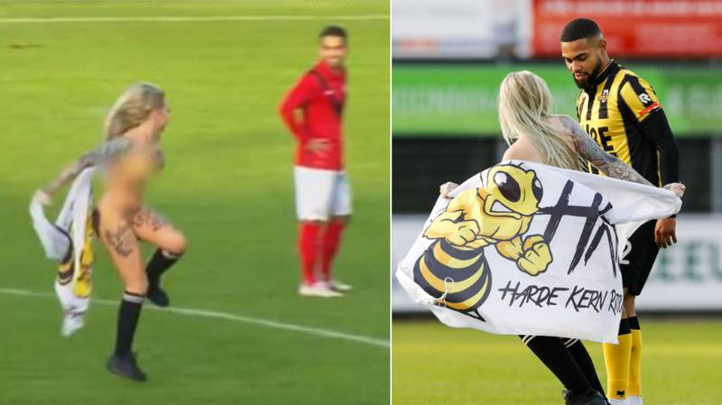 Home Fans Hire Stripper To Streak Naked And Distract Opposition In Dutch Third Division Game