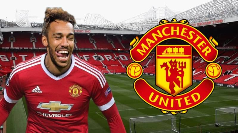 """Pierre-Emerick Aubameyang Says """"Yes"""" To Shock Transfer To Manchester United"""