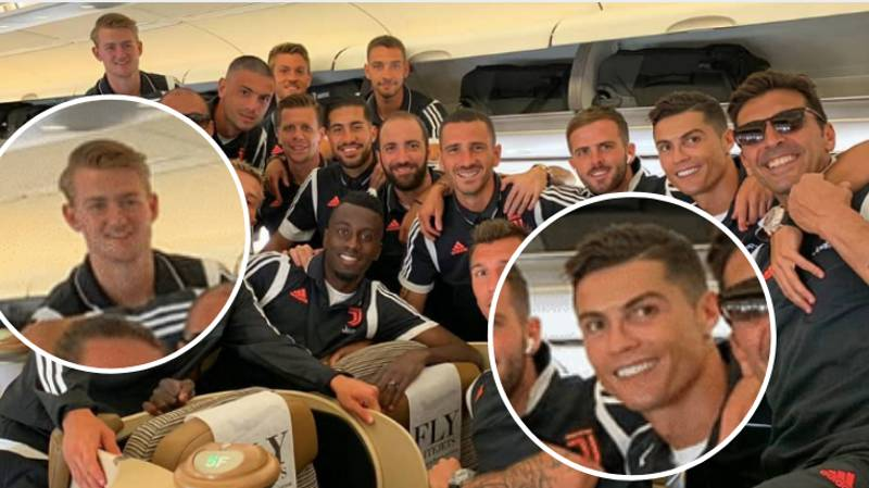"""Cristiano Ronaldo Introduced Himself To Matthijs De Ligt As """"Agent Ronaldo"""" On First Day"""