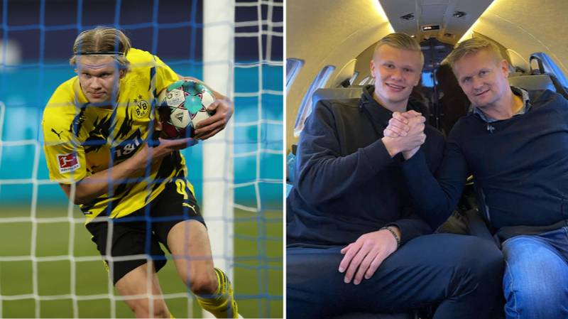 Erling Haaland Only Sees The Possibility Of Joining Six Clubs In World Football