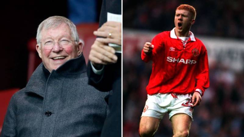What Sir Alex Ferguson Exclaimed When He First Saw Paul Scholes
