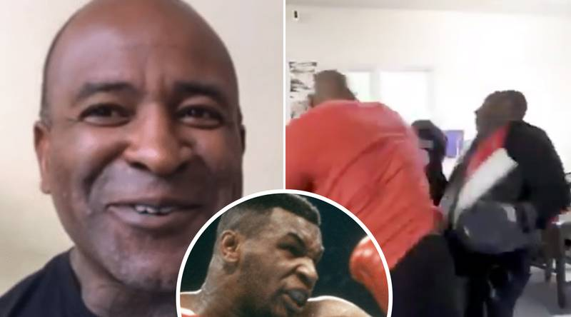 Mike Tyson's New Trainer Explains Terrifying Experience Of Working The Pads In Viral Training Clip