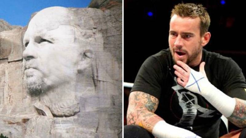 Ex-WWE Star CM Punk Has Named His 'Mount Rushmore Of Wrestling Greats'