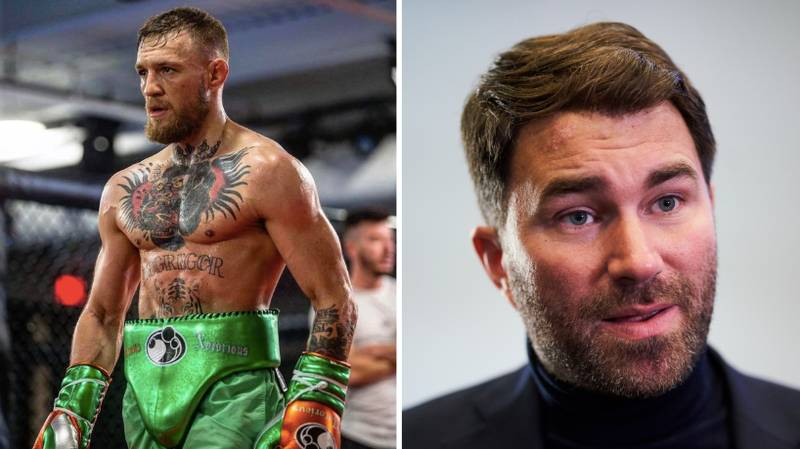 """Eddie Hearn Responds To Conor McGregor's """"Dance For Me"""" Comment"""
