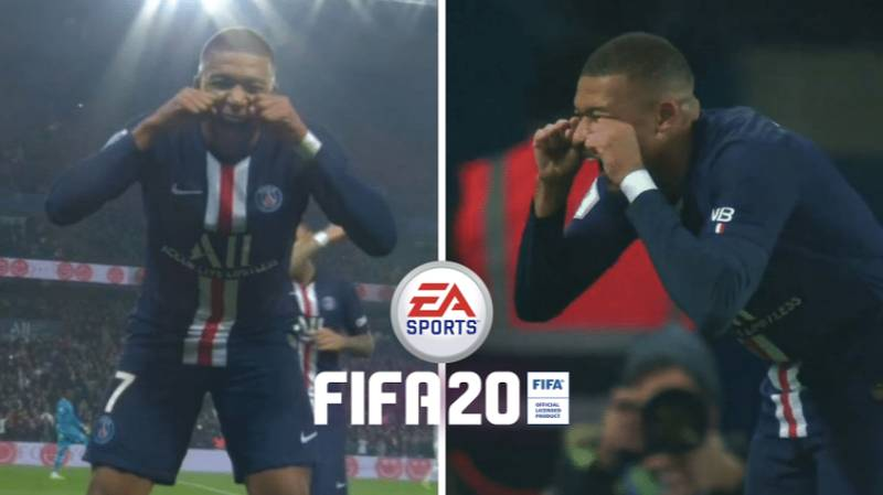 """Kylian Mbappe's """"Crying Baby"""" Would Be The Ultimate Troll Celebration On FIFA"""