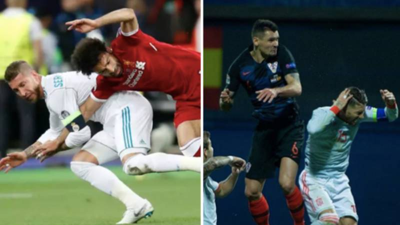 Dejan Lovren Admits He Elbowed Sergio Ramos Out Of Revenge For Mo Salah