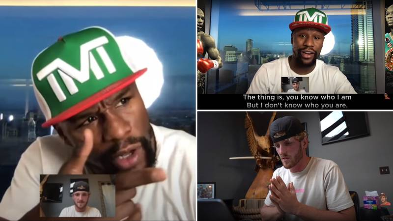 Logan Paul Shares Footage Of FaceTime With Floyd Mayweather That 'Pi**ed' Him Off