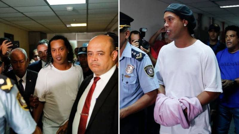 Covid-19 Outbreak Lands Blow To Ronaldinho's Hopes Of Prison Release