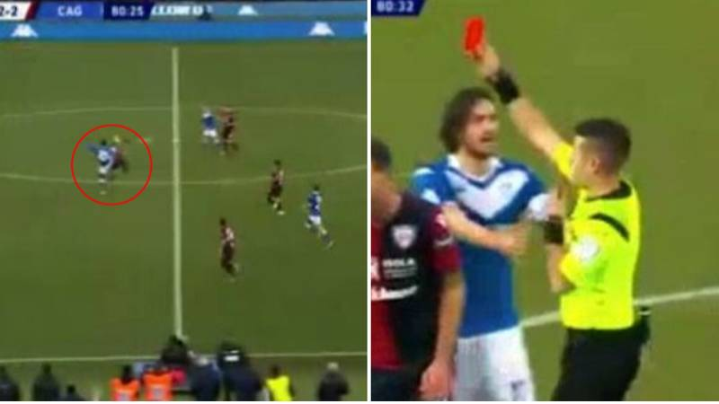 Mario Balotelli Comes On In 74th Minute, Gets Sent Off Seven Minutes Later