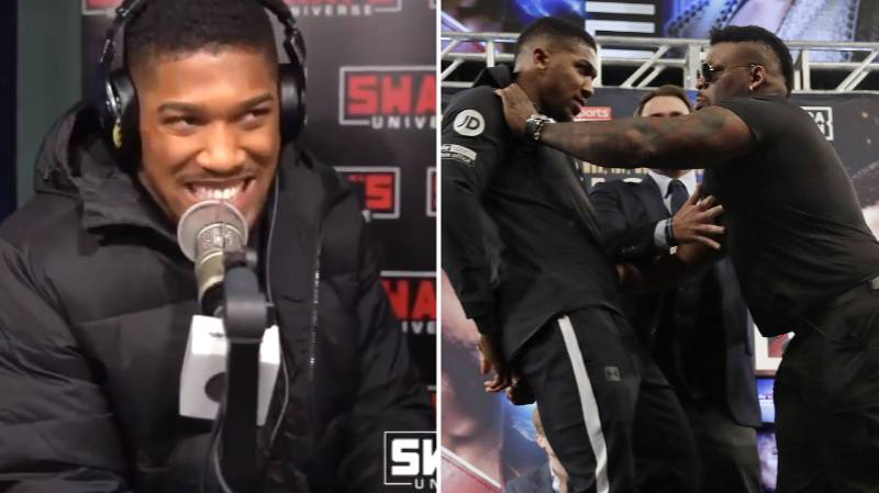 Anthony Joshua Predicts How Jarrell Miller Fight Will Go In Rap