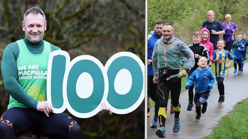 Meet The Man Running 100 Marathons In 100 Days For An Incredible Cause