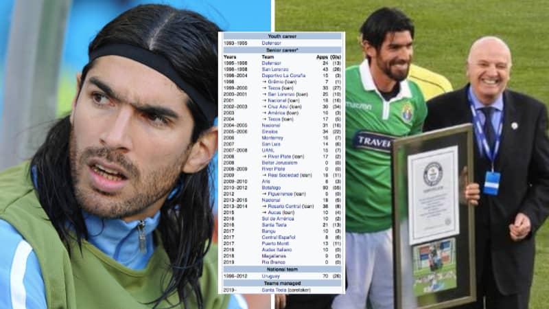 Guinness World Record Holder Sebastian 'El Loco' Abreu Has Signed For His 30th Club Aged 44
