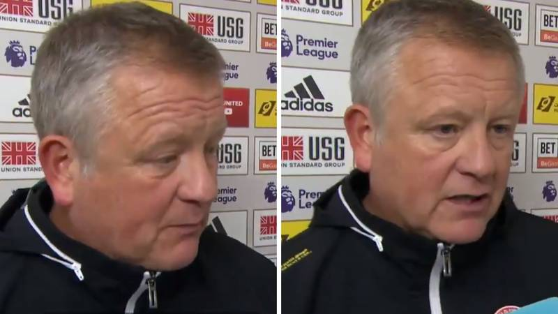 Chris Wilder Gives Passionate Opinion On VAR And Many Fans Agree