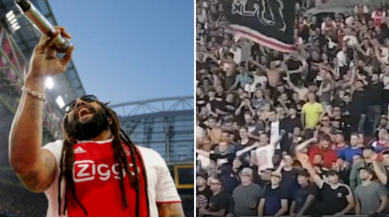 Bob Marley's Son Singing 'Three Little Birds' With Ajax Fans Will Give You Goosebumps