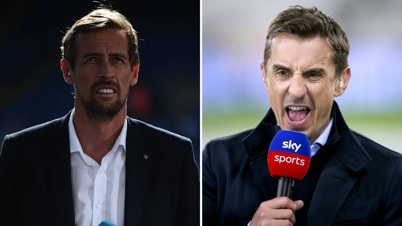 Peter Crouch Reveals The 'Sickening Moment' That Gary Neville 'P****d Him Off More Than Any Other Player'