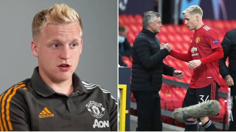 Donny van de Beek Finally Speaks Out On His Lack Of Game-Time At Manchester United