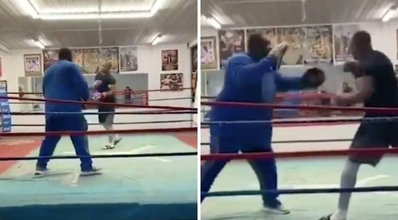Footage of Roy Jones Jr Training Revealed Ahead Of Mike Tyson Fight