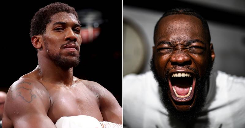 Anthony Joshua Fires Back At Deontay Wilder After Latest Bizarre Outburst