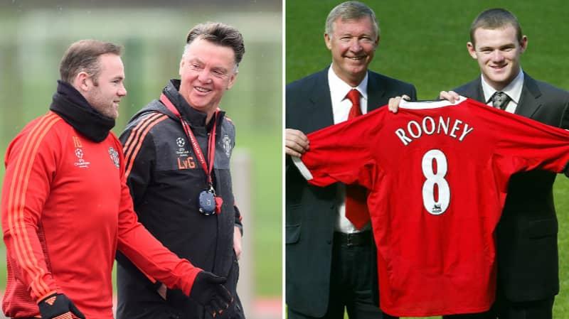 Wayne Rooney Explains One Area Louis Van Gaal Was A 'Better' Coach Than Sir Alex Ferguson