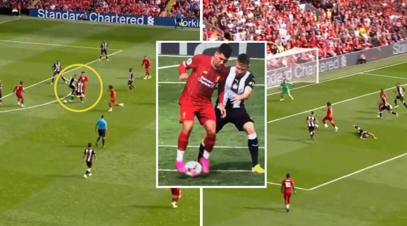 Roberto Firmino Assists Mohamed Salah For Liverpool With Audacious Flick Against Newcastle