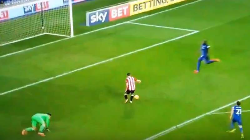 Watch: Brentford's Neal Maupay Produces A Truly Unexplainable Miss