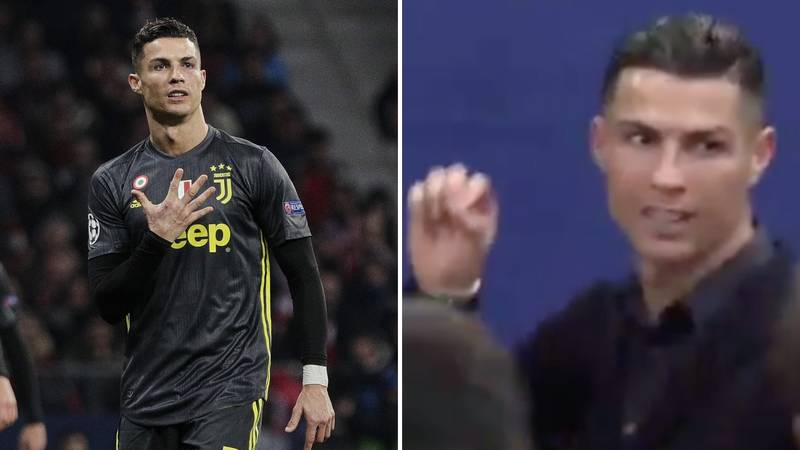 Cristiano Ronaldo Reminds The Atlético Madrid Press Of His Five Champions League Wins