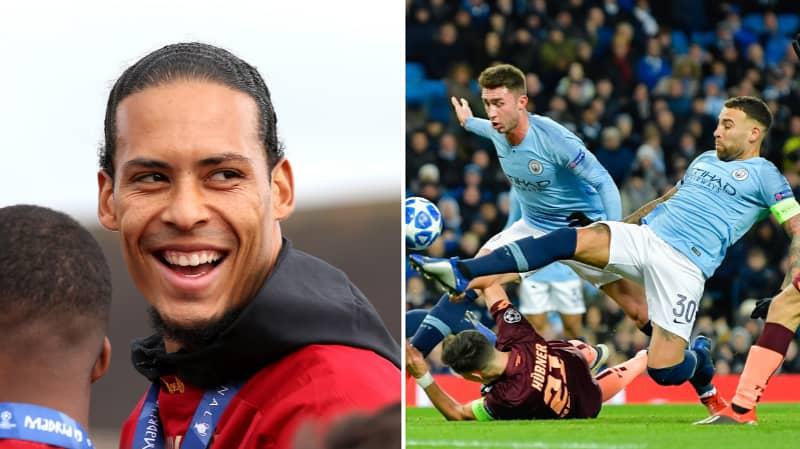 Manchester City Wanted Virgil Van Dijk To Be Third Choice Centre Back