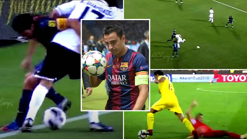 Incredible Xavi Compilation Showing How He 'Turned Football Into Art' Is A Must-Watch