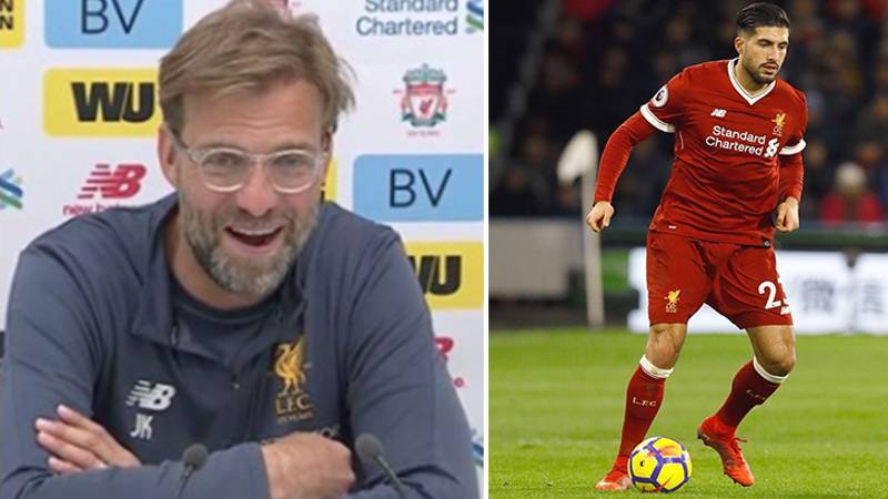 Klopp's Priceless Reaction To Reports That Can Is Demanding £200,000 Per Week