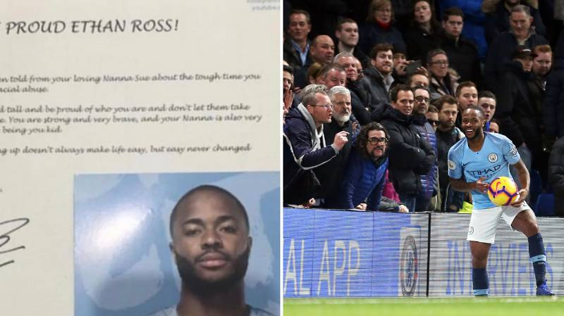 Raheem Sterling Sends Incredible Letter Of Support To Racially Abused Fan
