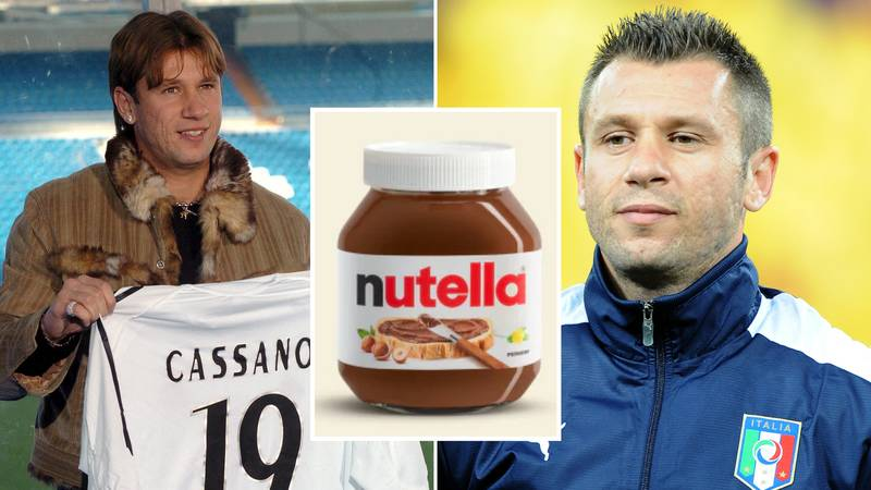 "Antonio Cassano ""Ate Nutella Directly From The Pot And Gained 14 Kilos In Seven Months"" At Real Madrid"