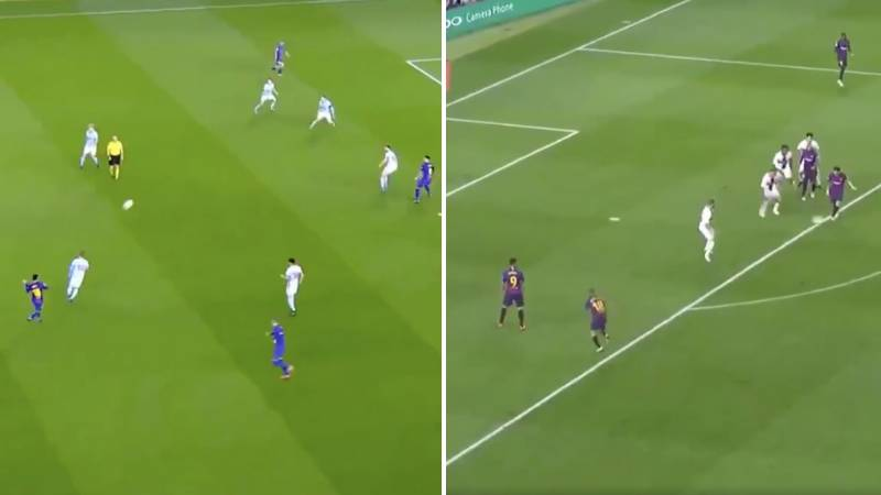 Clip Of Lionel Messi's 26 Assists In 2018 Is Just Wonderful Viewing