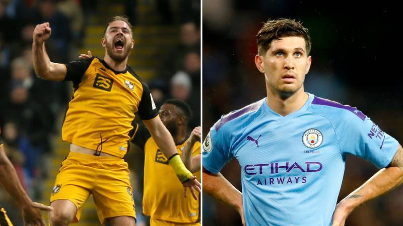 Tom Pope Posts Hilarious Tweet After Scoring Against Manchester City And John Stones