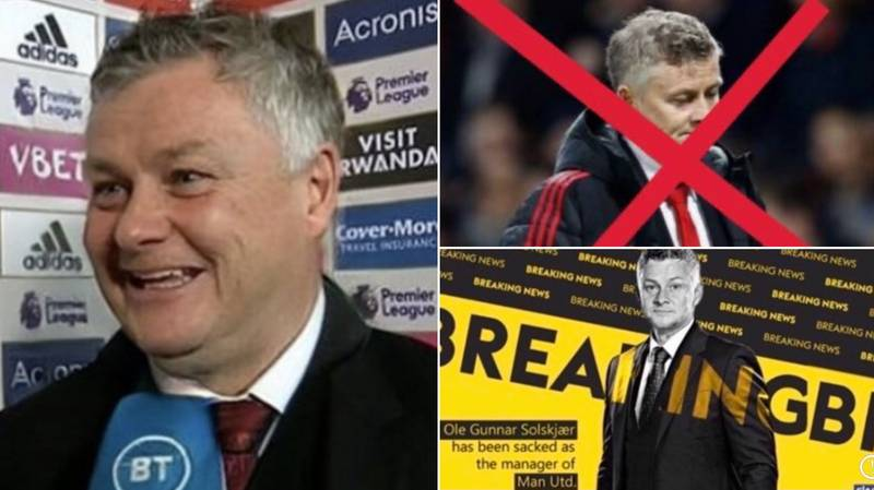 #OleOut Trends On Twitter After Manchester United Draw 1-1 At West Brom