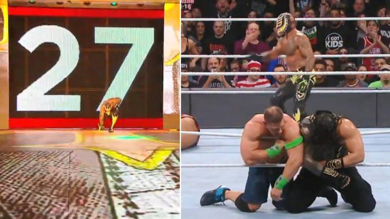 Rey Mysterio Returns At The Royal Rumble And The Crowd Goes Absolutely Crazy