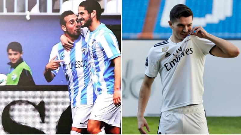 Brahim Diaz Was A Ball Boy When Isco Played For Malaga, Now They're Teammates