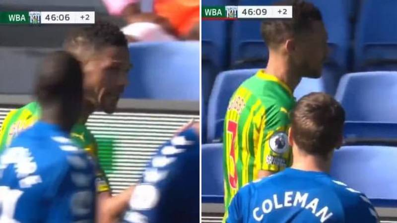 "Kieran Gibbs Threatened To ""F**king Do It Again"" After Red Card"