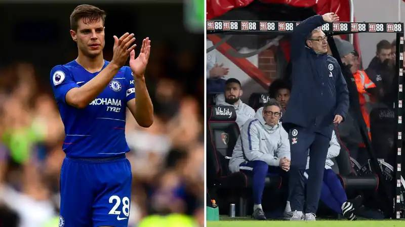 Cesar Azpilicueta Reveals Chelsea Dressing Room Anger After Bournemouth Defeat