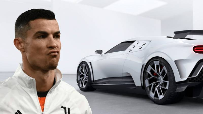 Cristiano Ronaldo Buys 'Ultra-Rare' €8 Million Bugatti Centodieci, There's Only 10 Models In Existence
